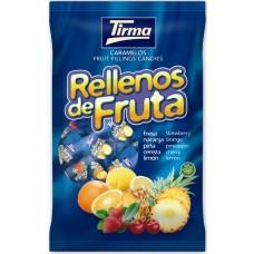 Tirma - Rellenos de Fruta Fruchtgeschmack-Bonbons 600g hergestellt auf Gran Canaria - LAGERWARE