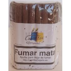 Canaritos - Miguelitos Puros 50 Stück Zigarren hergestellt auf Teneriffa - LAGERWARE