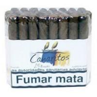 Canaritos - Brevas Puros 25 Stück Zigarren hergestellt auf Teneriffa