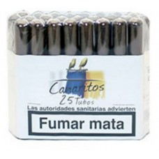 Canaritos - Tubos Puros 25 Stück Zigarren hergestellt auf Teneriffa - LAGERWARE