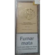 Condal No. 3 Estuche Puros 4 kanarische Zigarren in Schachtel hergestellt auf Gran Canaria