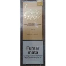 Condal No. 6 Estuche Puros 4 kanarische Zigarren in Schachtel hergestellt auf Gran Canaria