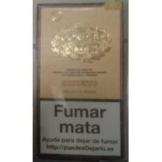 Condal Robusto Estuche Puros 4 kanarische Zigarren in Schachtel hergestellt auf Gran Canaria