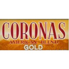 Coronas American Gold Carton 200 kanarische Zigaretten - Stange hergestellt auf Teneriffa