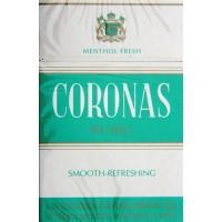 Coronas Rubio Menthol 200 kanarische Zigaretten - Stange hergestellt auf Teneriffa