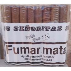 Doble Tres - Senoritas 25 Puros Zigarren 25 Stück hergestellt auf Gran Canaria