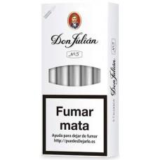 Don Julian No 5 kanarische Zigarillos 5 Stück hergestellt auf Gran Canaria - LAGERWARE