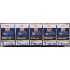 Mecanicos Extra Filtro 200 kanarische Zigaretten Stange hergestellt auf Teneriffa