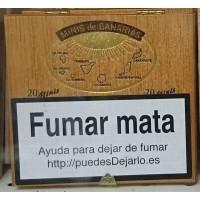 Minis de Canarias - 20 Minis Zigarillos Holzschachtel hergestellt auf Teneriffa
