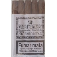 Vega Palmera - 10 Senoritas Zigarillos hergestellt auf Teneriffa