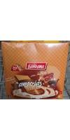 Bandama - Ambrosias Snacks Psico Choc Sabor Chocolate Waffeln mit Schokocreme 24x 28g 672g hergestellt auf Gran Canaria