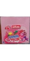 Bandama - Cubanitos Snacks Barquillo Relleno sin lactosa Waffeln mit Cremefüllung laktosefrei 24x 28g 672g hergestellt auf Gran Canaria