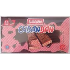 Bandama - Cubanban Waffelriegel mit Schokoladenüberzug 14x 20g 280g hergestellt auf Gran Canaria - LAGERWARE