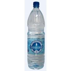 Fuenteror - Agua sin gas Mineralwasser mit Kohlensäure 1,5l PET-Flasche hergestellt auf Gran Canaria