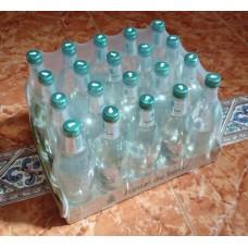 Fuenteror - Agua con gas Mineralwasser mit Kohlensäure 500ml x20 Glasflaschen Schraubverschluß Stiege hergestellt auf Gran Canaria