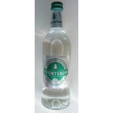 Fuenteror - Agua con gas Mineralwasser mit Kohlensäure 500ml Glasflasche Kronkorken hergestellt auf Gran Canaria