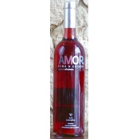 AMOR Rosado Afrutado fruchtiger Rosè-Wein 12% Vol. 750ml hergestellt auf Teneriffa