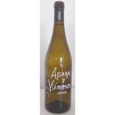Apaga y Vamonos - Vino Blanco Afrutado Weißwein fruchtig 10,5% Vol. 750ml hergestellt auf Teneriffa - LAGERWARE