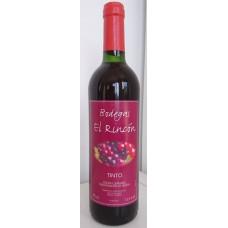 Bodegas El Rincon - Vino Tinto Rotwein trocken aus Fataga 12,5% Vol. 750ml hergestellt auf Gran Canaria - LAGERWARE