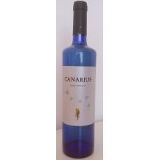 Canarius - Vino Blanco Semidulce Weißwein halbtrocken 12% Vol. 750ml hergestellt auf Teneriffa - LAGERWARE