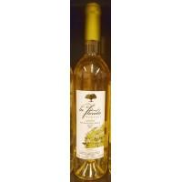 La Florida - Vino Blanco Seco Malvasia Volcanica Weißwein trocken 12,5% Vol. 750ml hergestellt auf Lanzarote