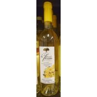 La Florida - Vino Blanco Semidulce Malvasia Volcanica Weißwein halbtrocken 12,5% Vol. 750ml hergestellt auf Lanzarote