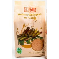 Amagoldi - Azucar Integral de Cana Rohrzucker braun 1kg hergestellt auf Gran Canaria