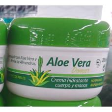 Aloe Vera Domar - Crema hydratante cuerpo y manos Feuchtigkeitscreme Körper und Hände 200ml Dose hergestellt auf Teneriffa - LAGERWARE