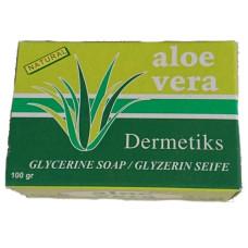 Dermetiks - Glyzerin Seife Jabon glicerina Aloe Vera 100g hergestellt auf Gran Canaria - LAGERWARE