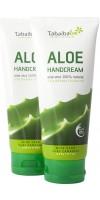 Tabaibaloe - Crema de Manos Hand Cream Standtube 2x 100ml Pack hergestellt auf Teneriffa - LAGERWARE