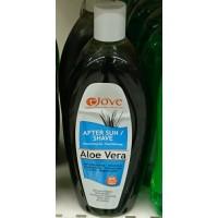 Ejove - After Sun / Shave Aloe Vera Feuchtigkeitsgel 500ml hergestellt auf Gran Canaria