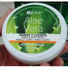 Ejove - Aloe Vera Hand- und Körpercreme 200ml hergestellt auf Gran Canaria