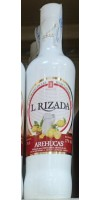 Arehucas - Licor Leche Rizada Cremelikör Zitrone-Zimt 700ml 17% Vol. hergestellt auf Gran Canaria - LAGERWARE