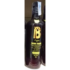 Artemi - B Bana-Mana Banana Cream Bananen-Creme-Likör 17% Vol. 700ml hergestellt auf Gran Canaria - LAGERWARE