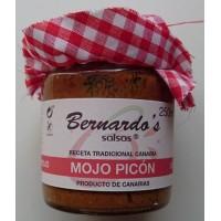 Bernardo's Mermeladas - Mojo Canario Picón - rote scharfe Mojosauce von Bernardos Mermeladas 250ml von Lanzarote