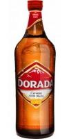 Dorada - Pilsen Cerveza Bier Glasflasche 4,7% Vol. 750ml Glasflasche hergestellt auf Teneriffa - LAGERWARE