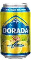 Dorada - Sin Alc. Con Limon Bier Radler alkoholfrei 6x 330ml Dose Sixpack hergestellt auf Teneriffa
