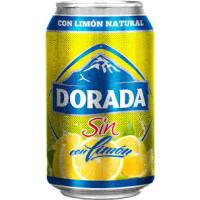Dorada - Sin Alc. con limon Bier Radler alkoholfrei - 24x 330ml Dose Stiege hergestellt auf Teneriffa