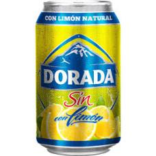 Dorada - Sin Alc. Cerveza con Limon Bier Radler alkoholfrei 6x 330ml Dose Sixpack hergestellt auf Teneriffa - LAGERWARE