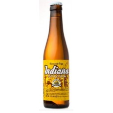 Isla Verde - Indiana Blanca de Trigo Cerveza Bier 5,5% Vol. Glasflasche 330ml hergestellt auf La Palma