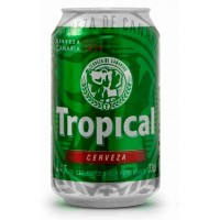 Tropical - Bier Cerveza Pilsen 4,7% Vol. 6x 330ml Dose Sechserpack hergestellt auf Gran Canaria