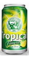 Tropical - Limon Bier Radler 2,6% Vol. 24x 330ml Dose hergestellt auf Gran Canaria - LAGERWARE