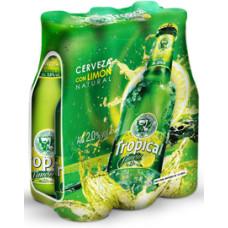 Tropical - Limon Bier 4x 6x 250ml 2,6% Vol. Flasche 24 Stück Stiege hergestellt auf Gran Canaria