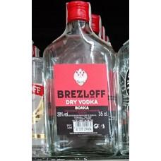 Brezloff - Dry Vodka Boaka Wodka 38% Vol. 350ml hergestellt auf Teneriffa