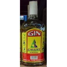 Cayest - Ginebra Gin 38% Vol. 1l hergestellt auf Teneriffa