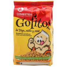 Comeztier - Gofitos de Trigo y Millo y Miel Weizen-Mais-Honig-Cereals Gofio Tüte 290g hergestellt auf Teneriffa - LAGERWARE MHD: 28.02.2021
