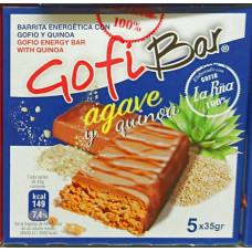 GofiBar - Agave y quinoa Müsliriegel mit Gofio 5x35g hergestellt auf Gran Canaria