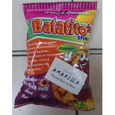 Batatito's Snacks - Patatas Fritas Batata Amarilla Yema de Huevo Kartoffelchips mit Eigelb 40g hergestellt auf Lanzarote