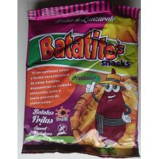 Batatito's Snacks - Patatas Fritas Batata Sweet Conchas propia Kartoffelchips 80g hergestellt auf Lanzarote