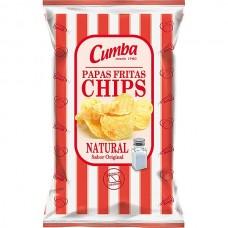 Cumba - Chips Papas Fritas Natural 120g hergestellt auf Gran Canaria